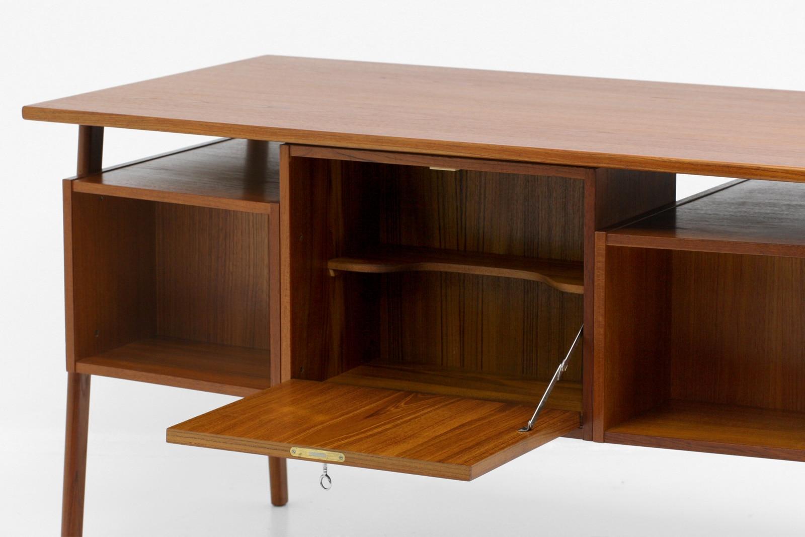 ヴィンテージ,北欧,家具,両袖デスク,デンマーク