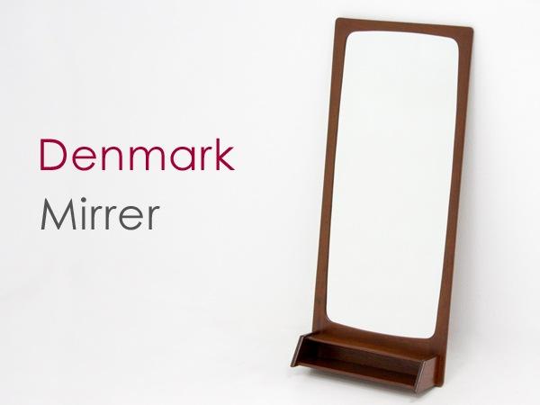北欧家具,ビンテージ,ミラー,鏡,チーク材,デンマーク