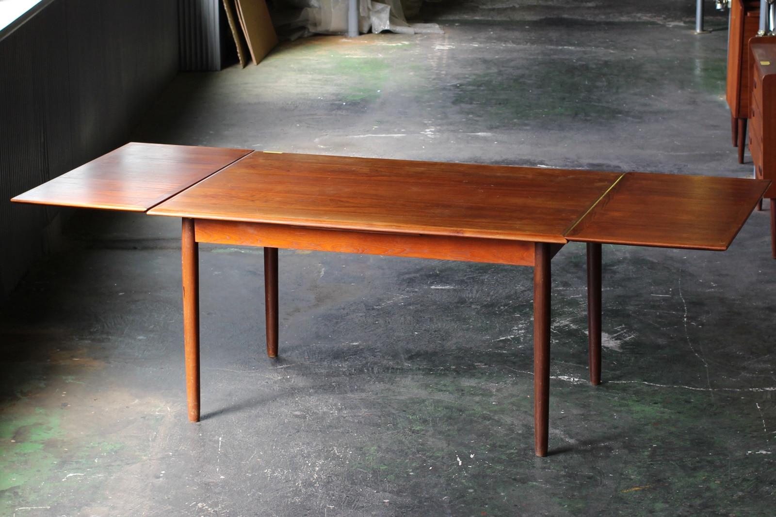ヴィンテージ,北欧,家具,デンマーク,ダイニングテーブル,幅135cm