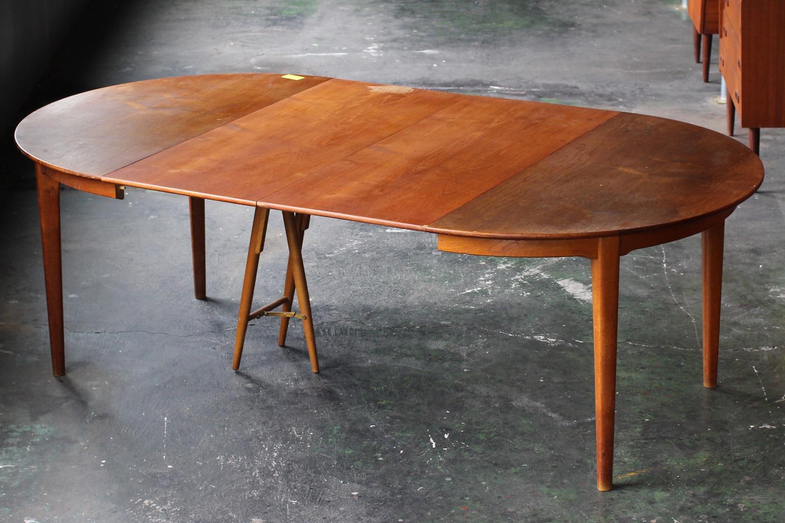 ヴィンテージ,北欧,家具,ダイニングテーブル,丸型,幅124.5cm