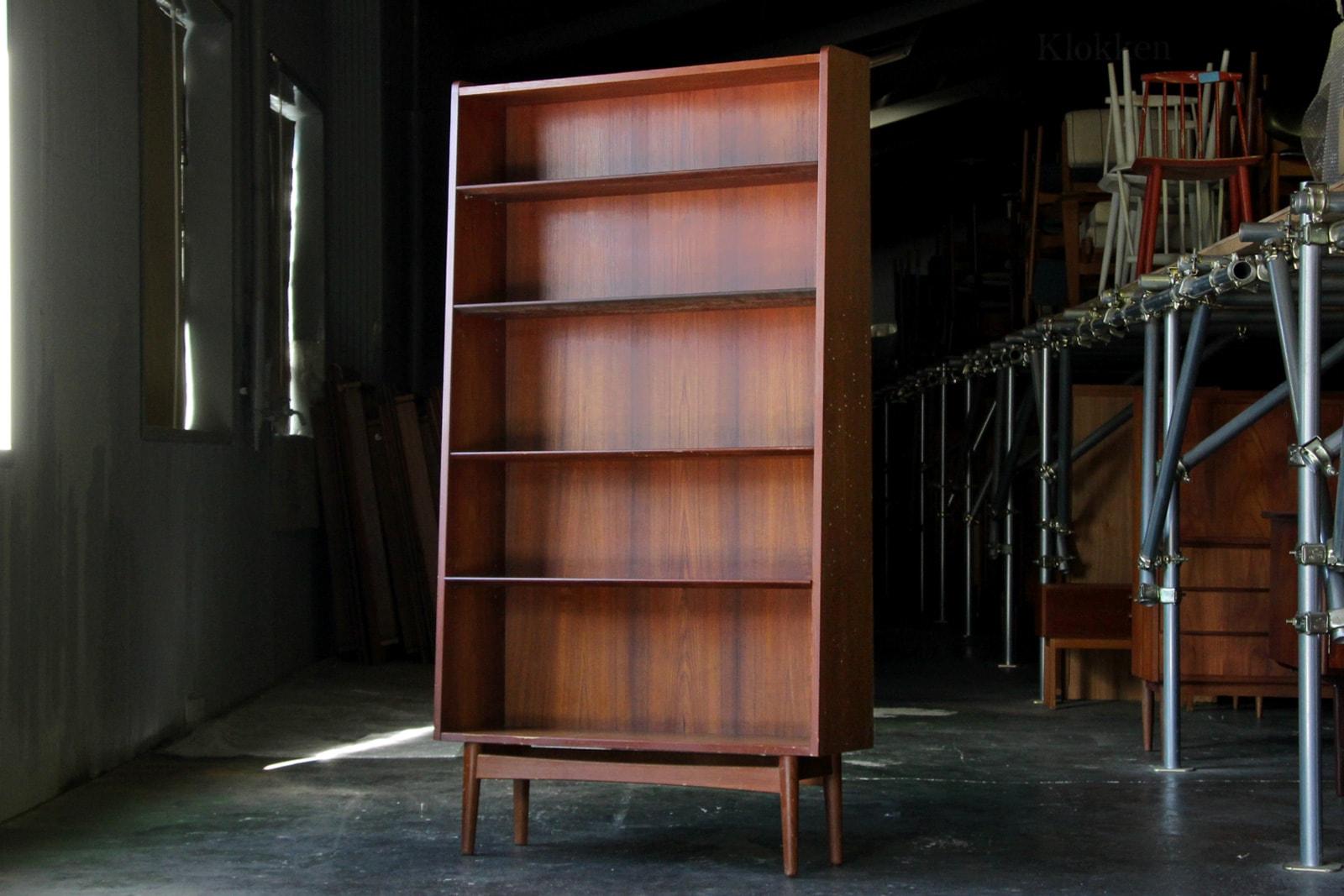 北欧,デンマーク,家具,Johannes,Sorth,ブックシェルフ,本棚,大きい