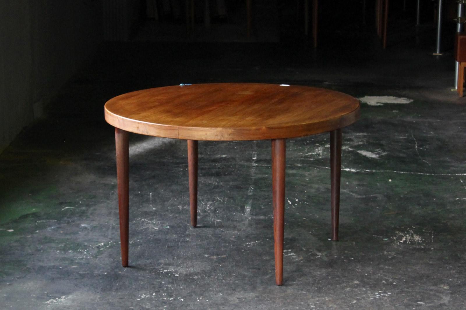 北欧,ヴィンテージ,家具,カイクリスチャンセン,ラウンド型,ダイニングテーブル