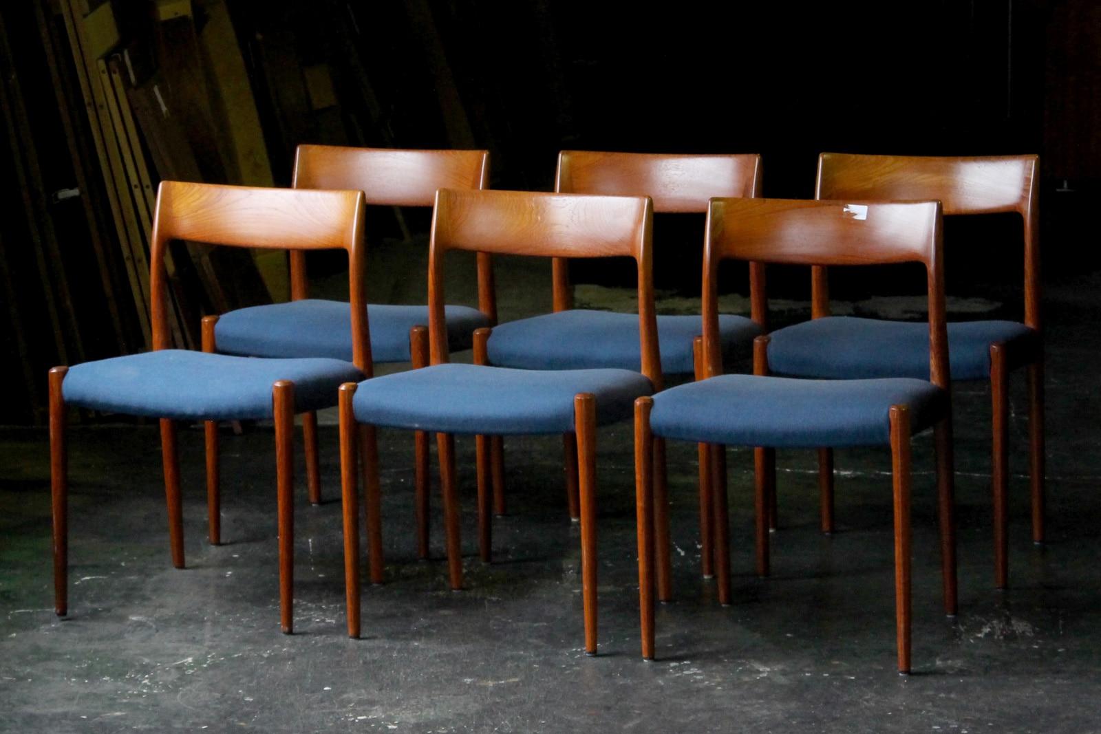 北欧,ヴィンテージ家具,JLMoller,JLモラー,NO77,椅子