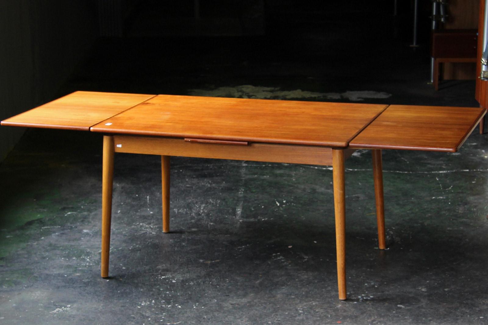 北欧,ミッドセンチュリー,家具,ダイニングテーブル,124cm