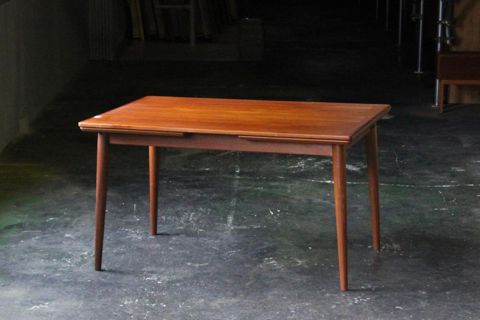 北欧,ヴィンテージ,家具,ダイニングテーブル,チーク,長方形