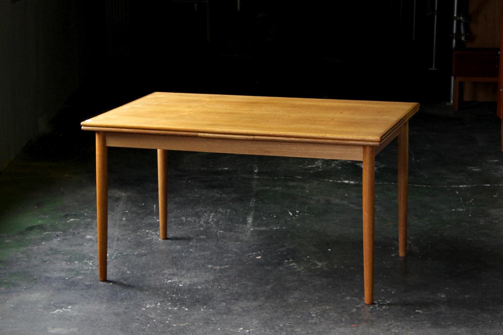 北欧,アンティーク,家具,ダイニングテーブル,エクステンション,135cm