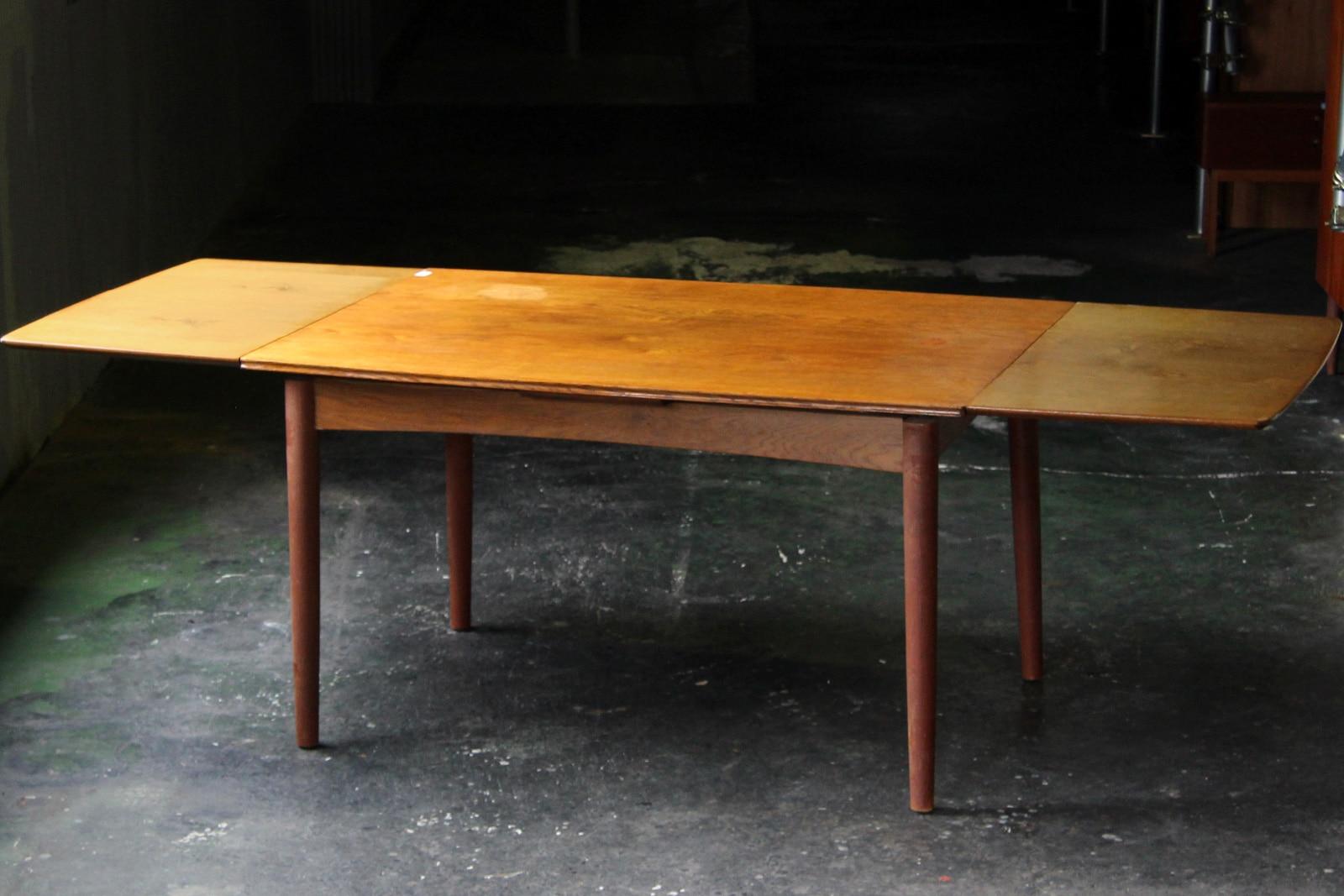 北欧,ヴィンテージ,家具,ダイニングテーブル,オーク材,130cm