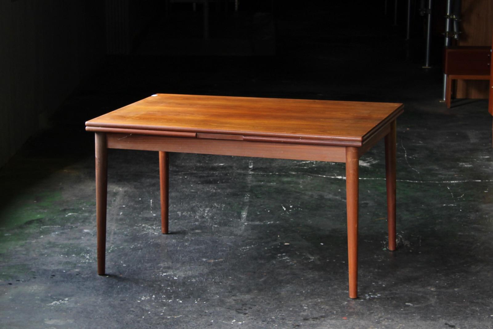 北欧,アンティーク,家具,ダイニングテーブル,ドローリーフ,128cm