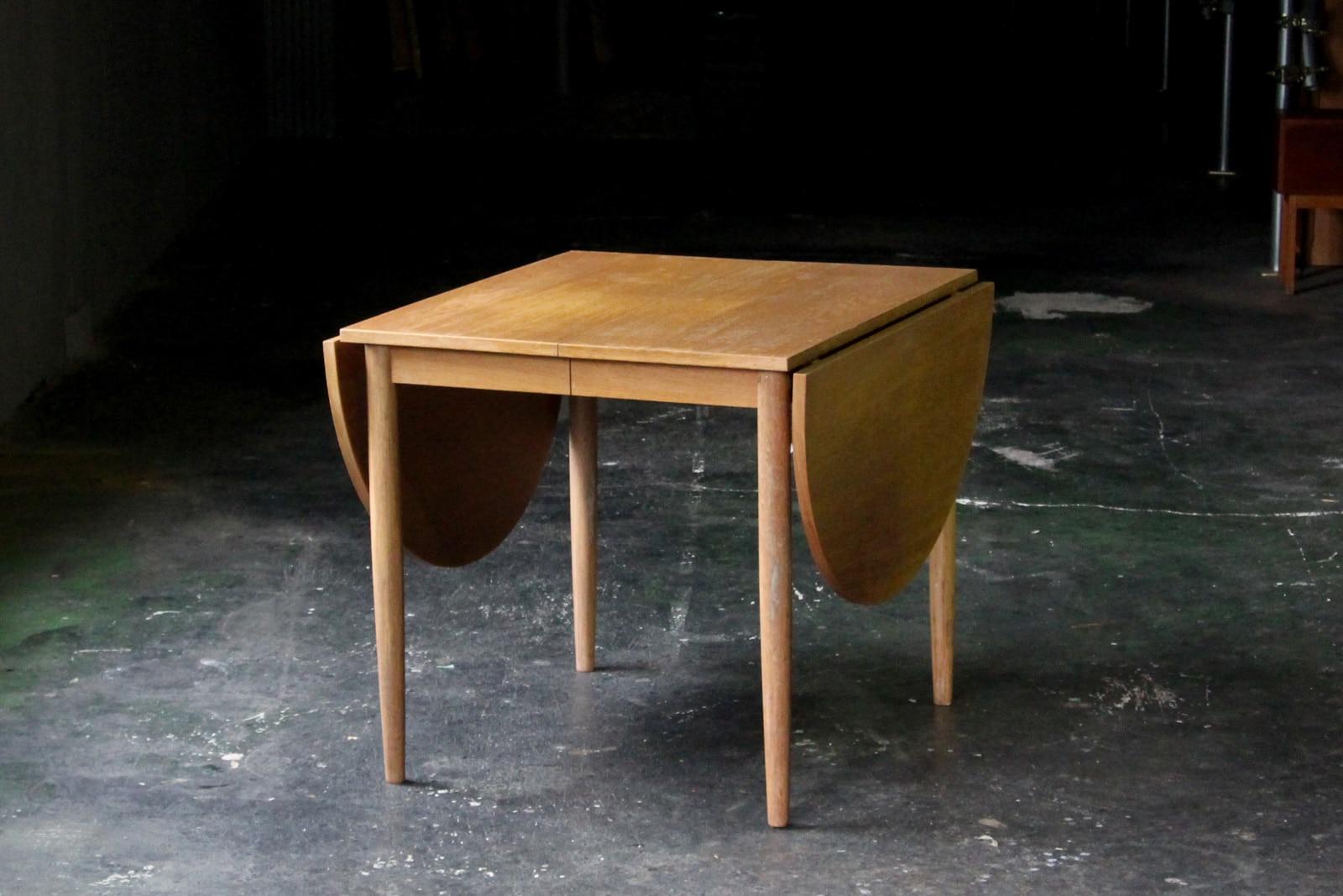 北欧,ヴィンテージ,家具,ダイニングテーブル,バタフライ,オーク材