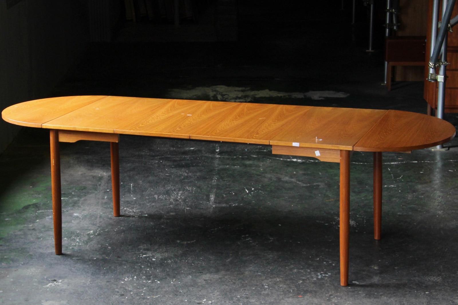 北欧,ヴィンテージ,家具,ダイニングテーブル,オーバル,バタフライ