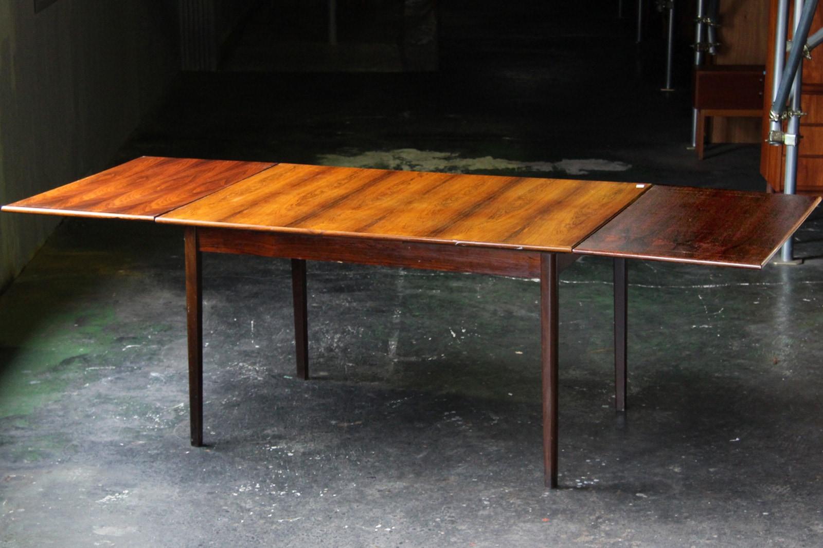 北欧,ヴィンテージ,家具,ダイニングテーブル,ローズウッド材,長方形
