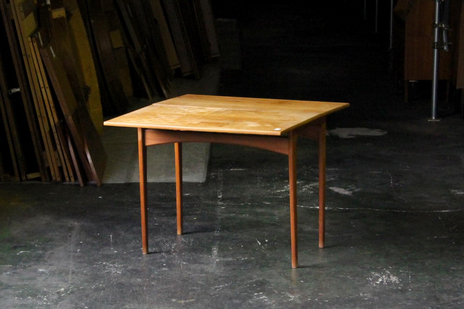 北欧,アンティーク,家具,テーブル,机,小さい,スライド拡張