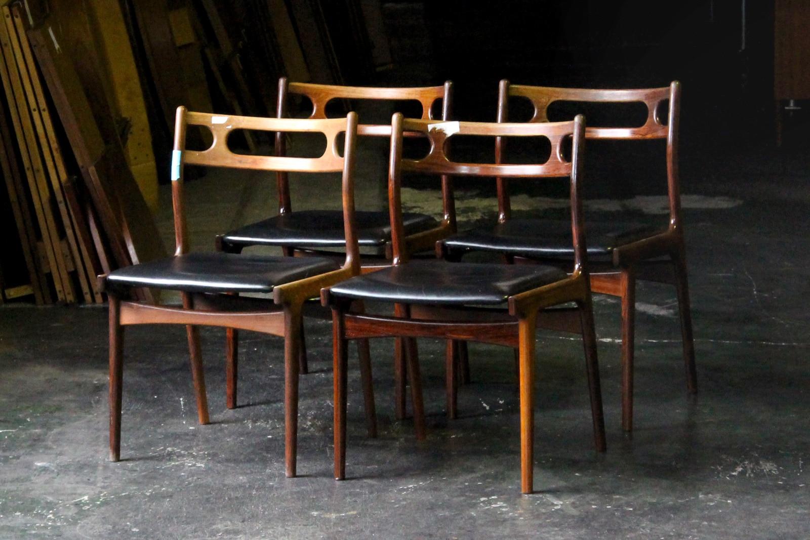 北欧,デンマーク家具,JohannesAndersen,名作椅子,本革