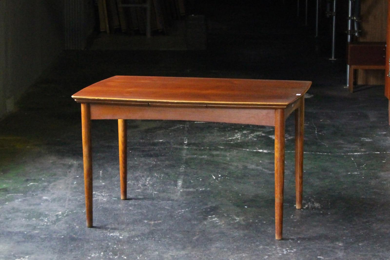 北欧,デンマーク,家具,ダイニングテーブル,エクステンション,小さめ,125cm