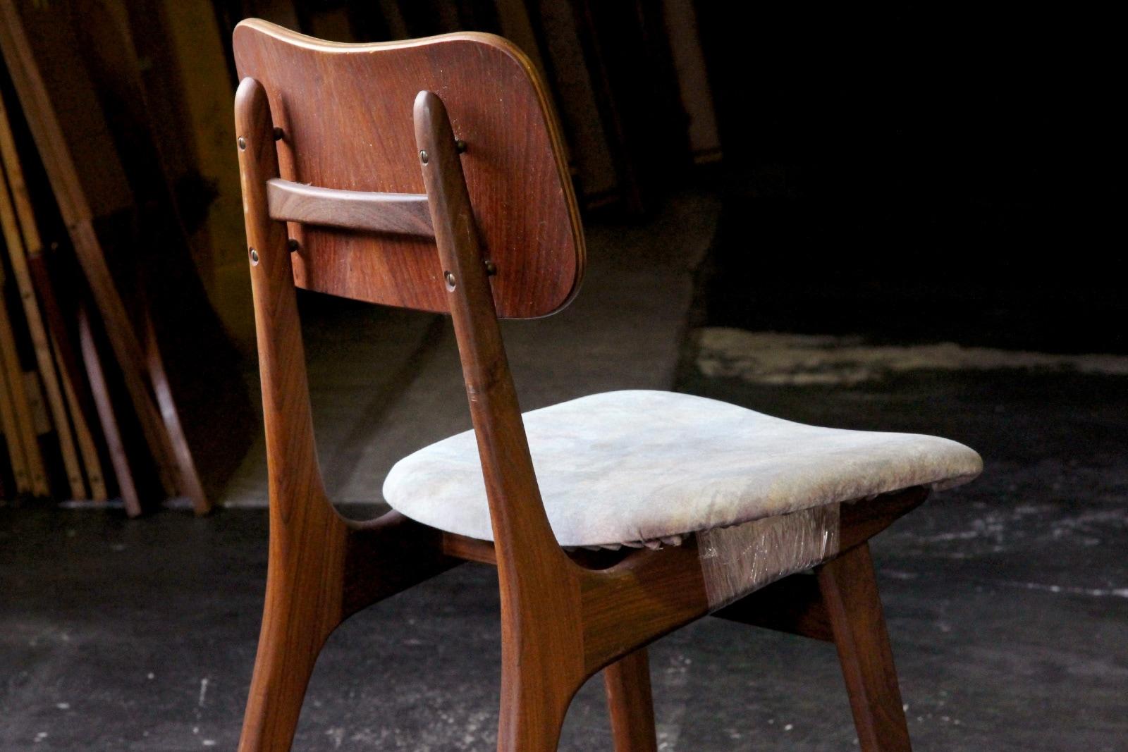 北欧,ミッドセンチュリー,椅子,IbKofodLarsen