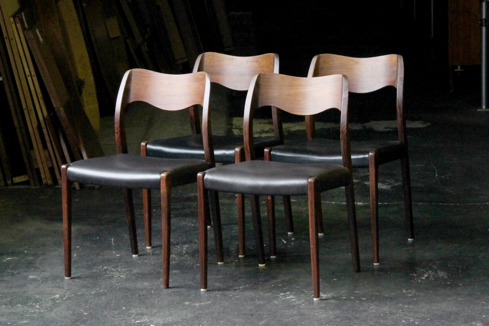 北欧,ヴィンテージ,名作椅子,JLMoller,JLモラー,NO71,本革