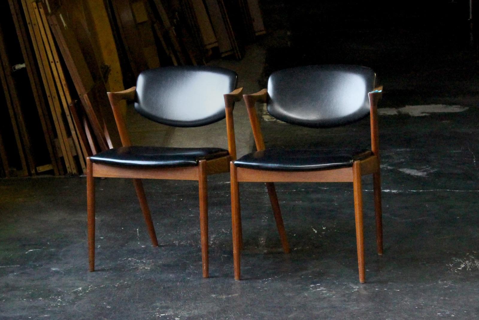 北欧,ヴィンテージ,名作椅子,カイクリスチャンセン,NO42,チーク