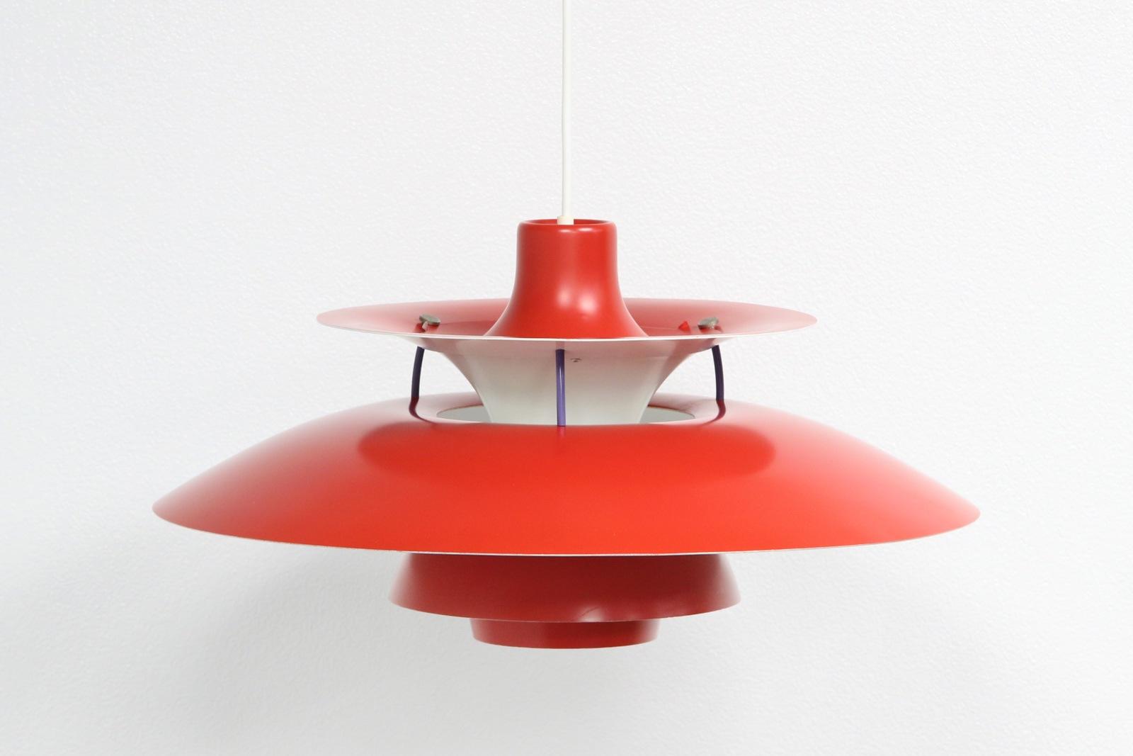 PH5,ルイスポールセン,赤