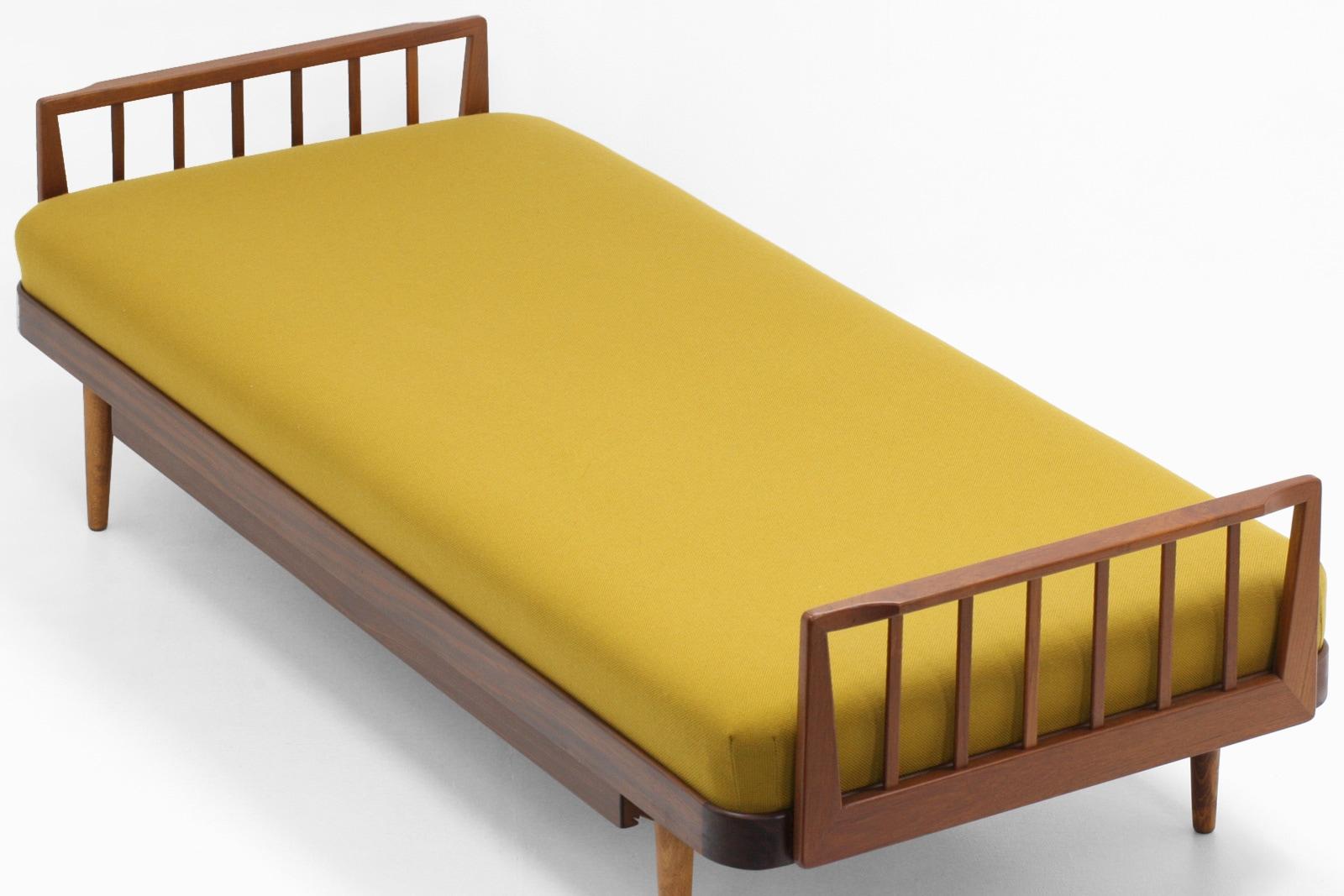 北欧,ベッド,チーク材,ヴィンテージ,デンマーク