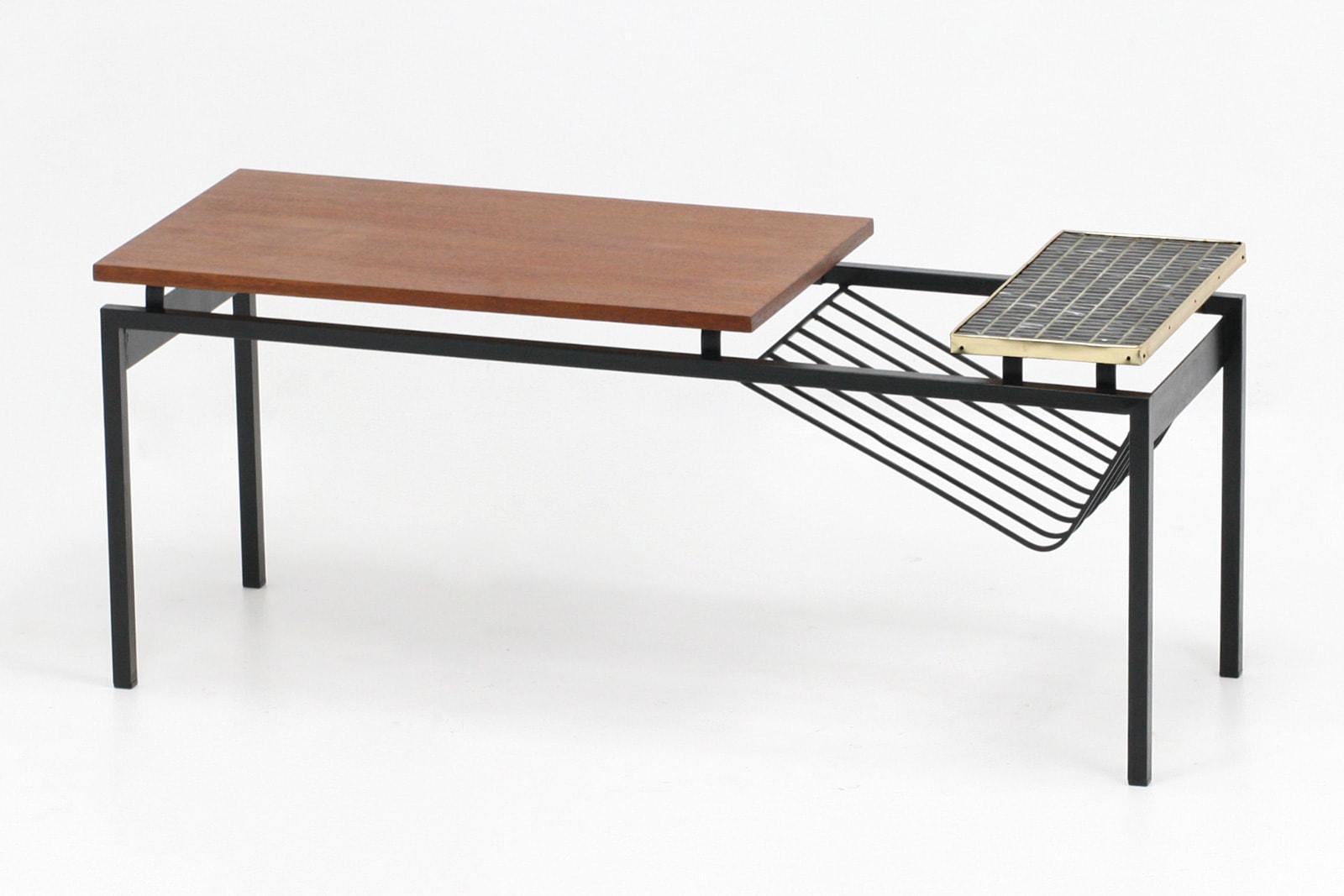 タイルトップテーブル,オランダ家具,ミッドセンチュリー
