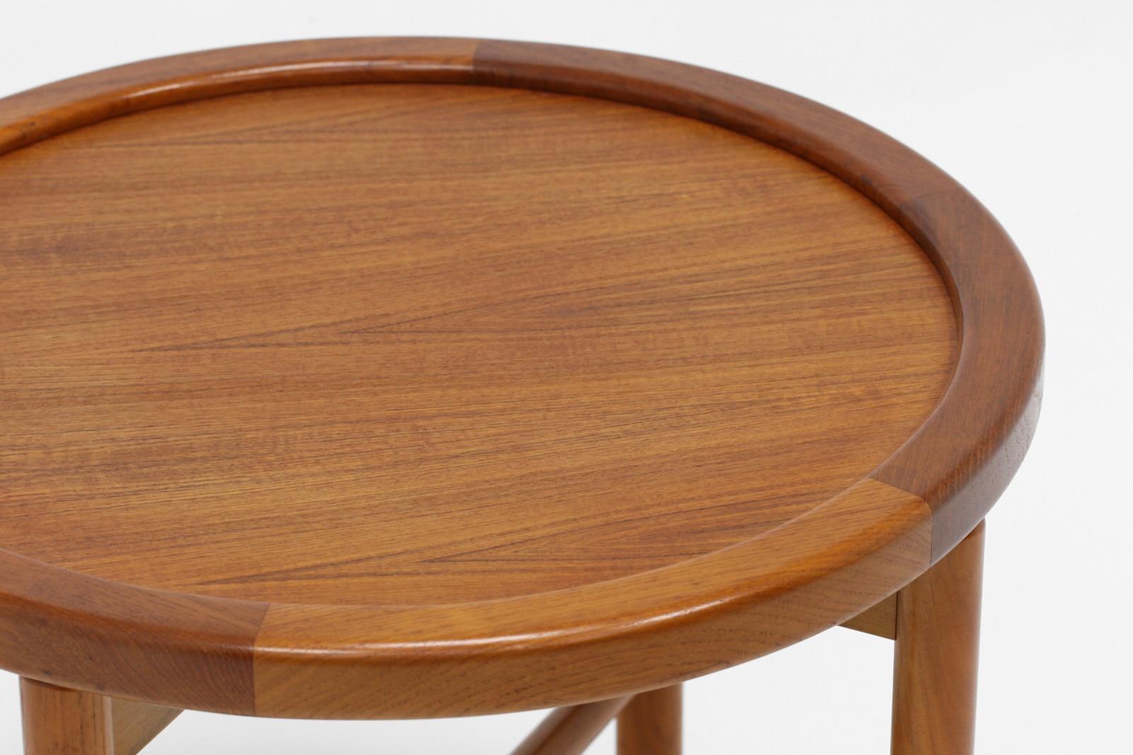 北欧,ローテーブル,丸型,小さい