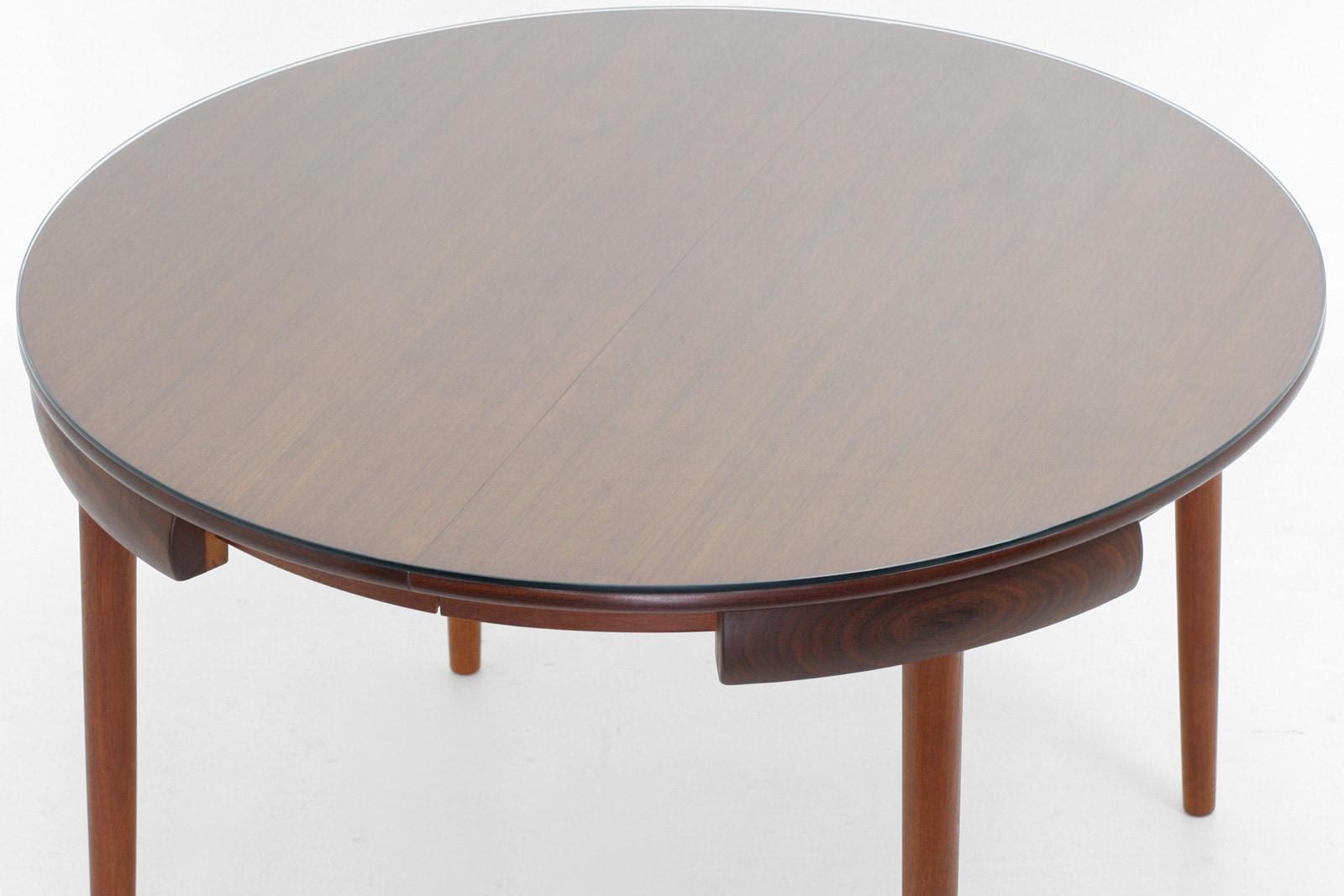 北欧,HansOlsen,ハンスオルセン,ダイニングテーブル,丸型