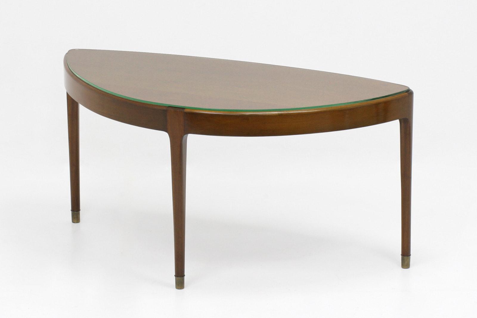 北欧,ローテーブル,ガラス天板,3本脚