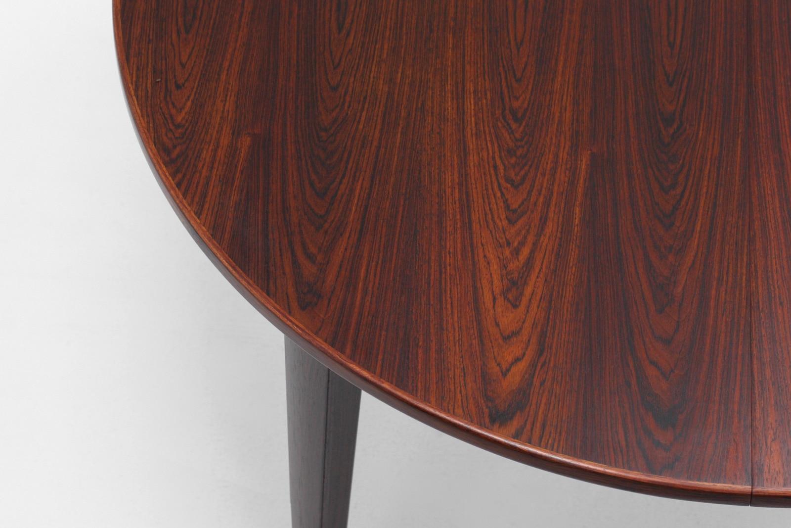 オーマンジュン,ダイニングテーブル,円形,ローズウッド,model55,北欧,デザイナーズ,家具