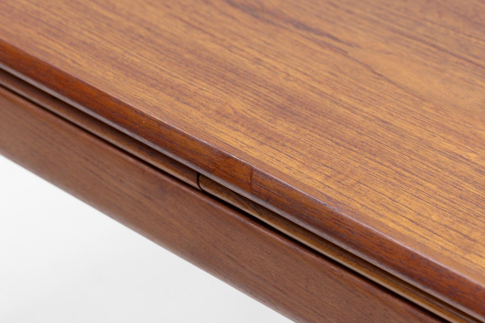 ダイニングテーブル,チーク材,北欧,ヴィンテージ,家具,140cm