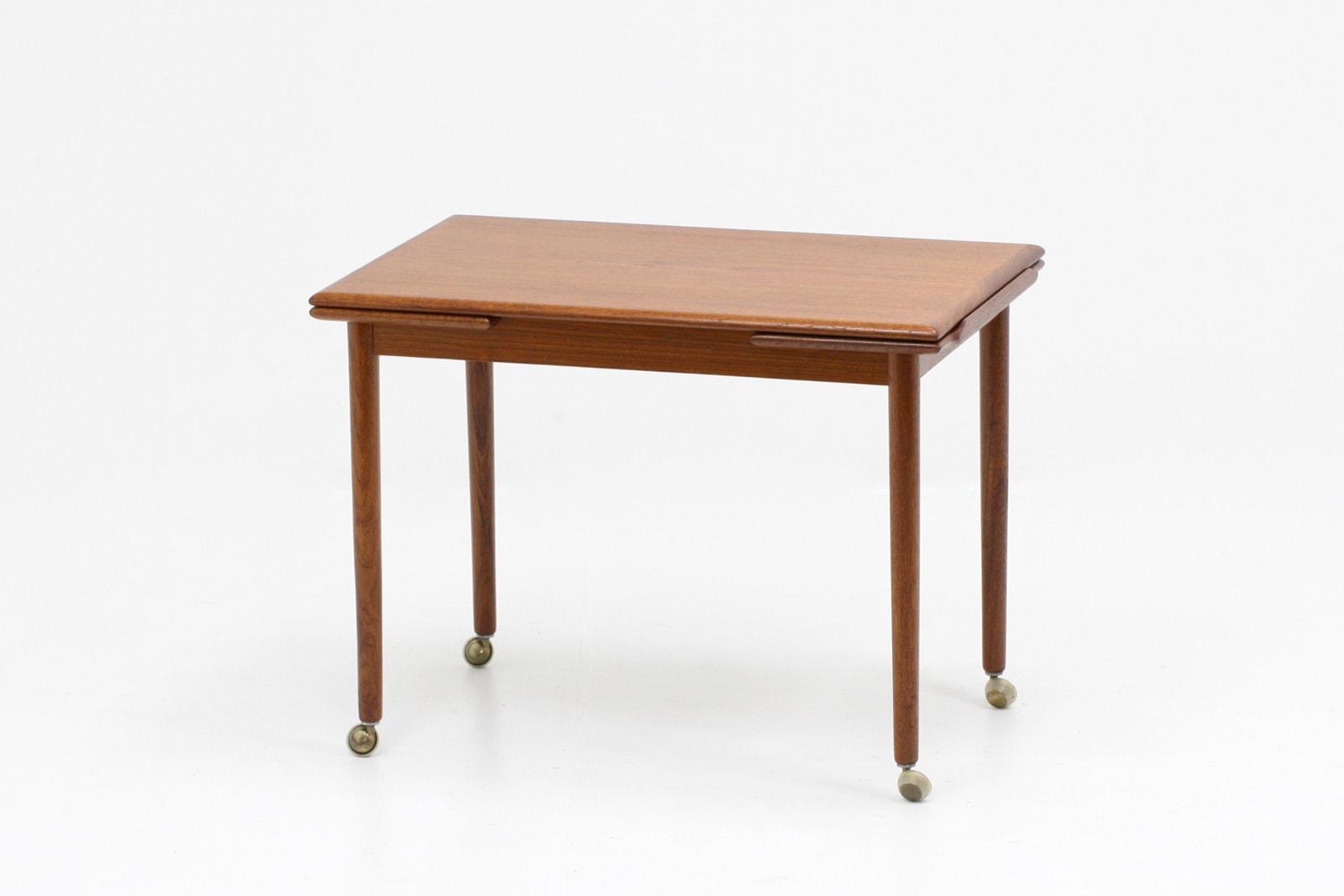 北欧,小さい,テーブル,ワゴン,Dyrlund