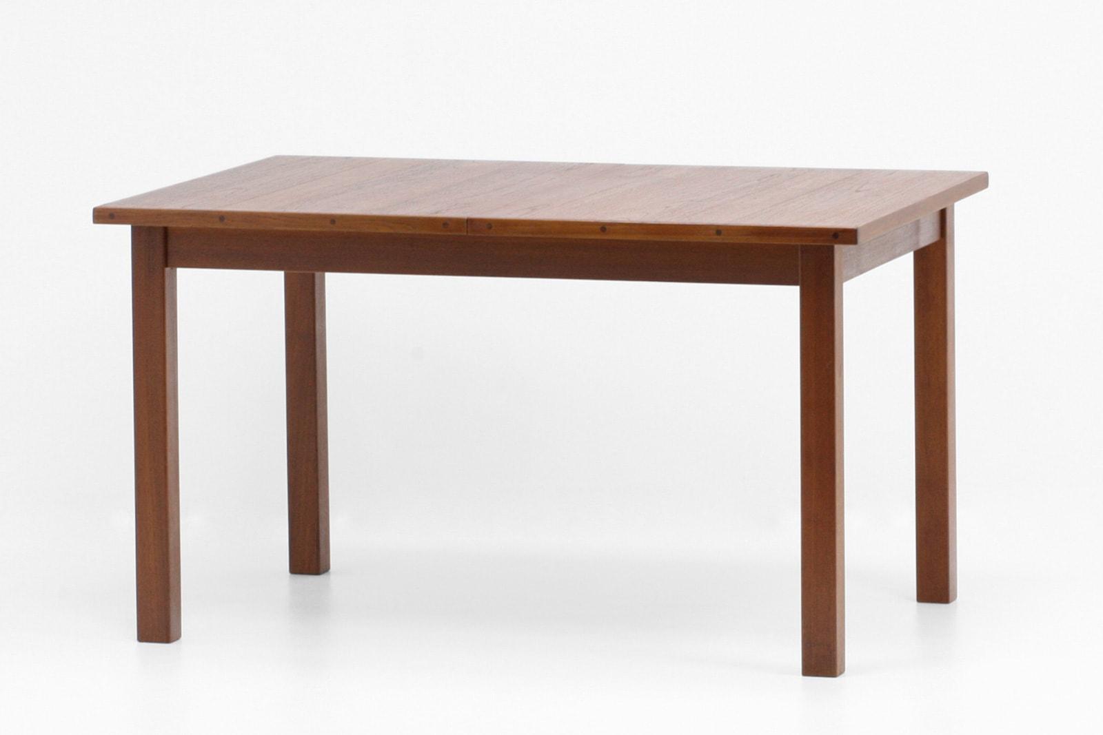 北欧,ダイニングテーブル,角脚,四角,ヴィンテージ,家具