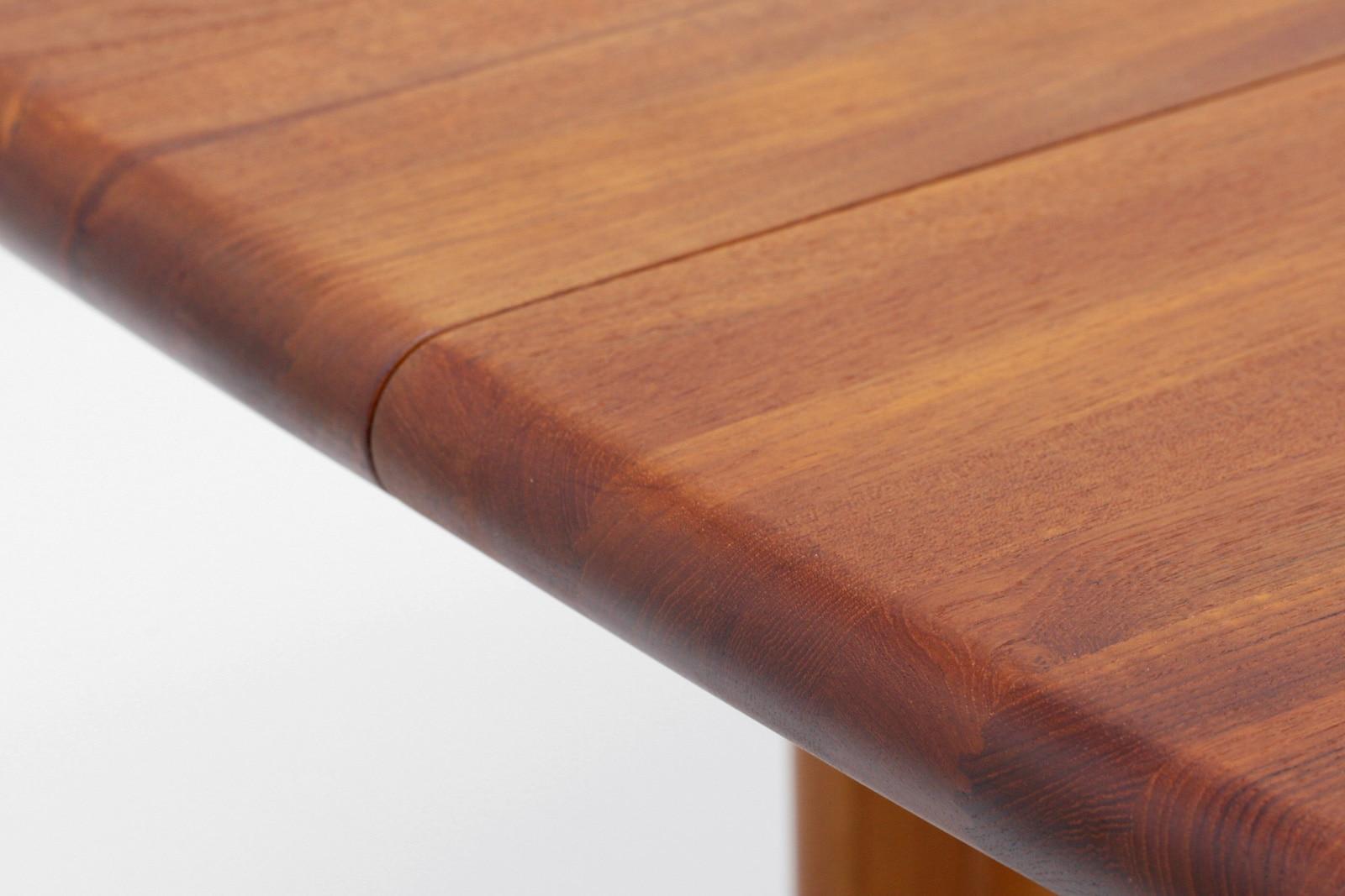 北欧,dyrlund,ダイニングテーブル,チーク,無垢材,オーバル
