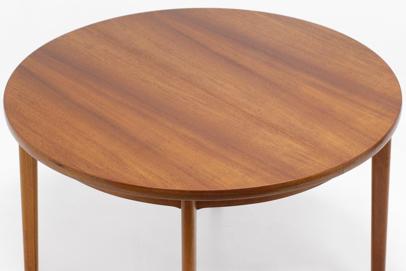北欧,ヴィンテージ家具,丸型,チーク材,ダイニングテーブル,AM mobler