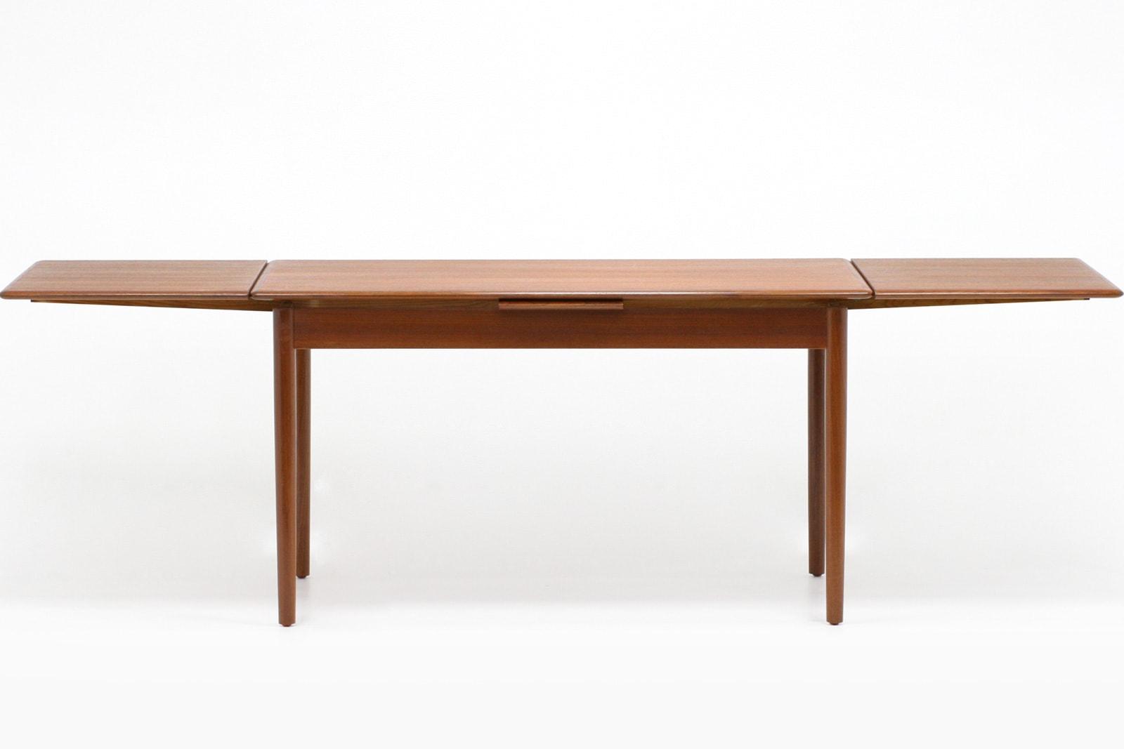 北欧,ダイニングテーブル,エクステンション,128cm