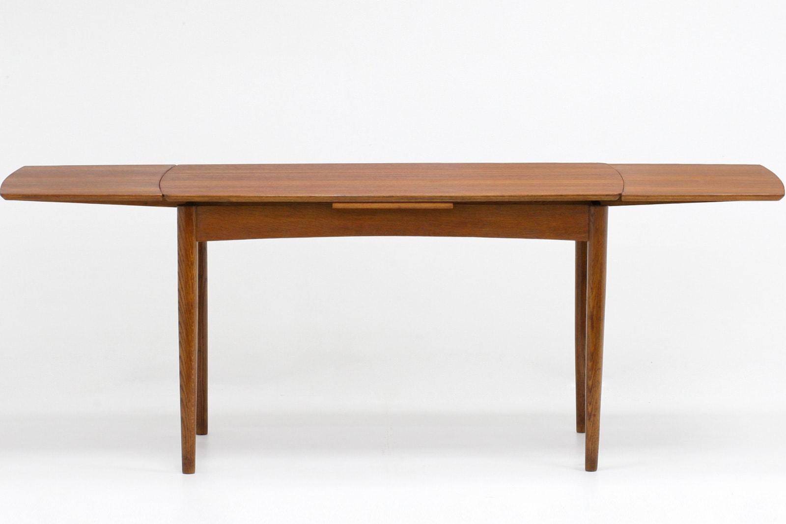 ダイニングテーブル,北欧,伸張式,125cm