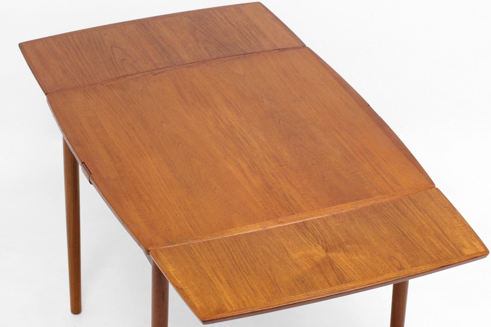 北欧,ヴィンテージ家具,ダイニングテーブル,リバーシブル,CarloJensen,正方形