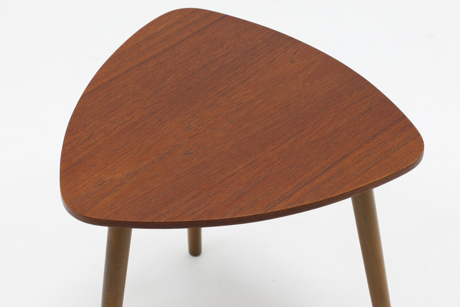 ヴィンテージ,北欧,サイドテーブル,三角天板,デンマーク家具