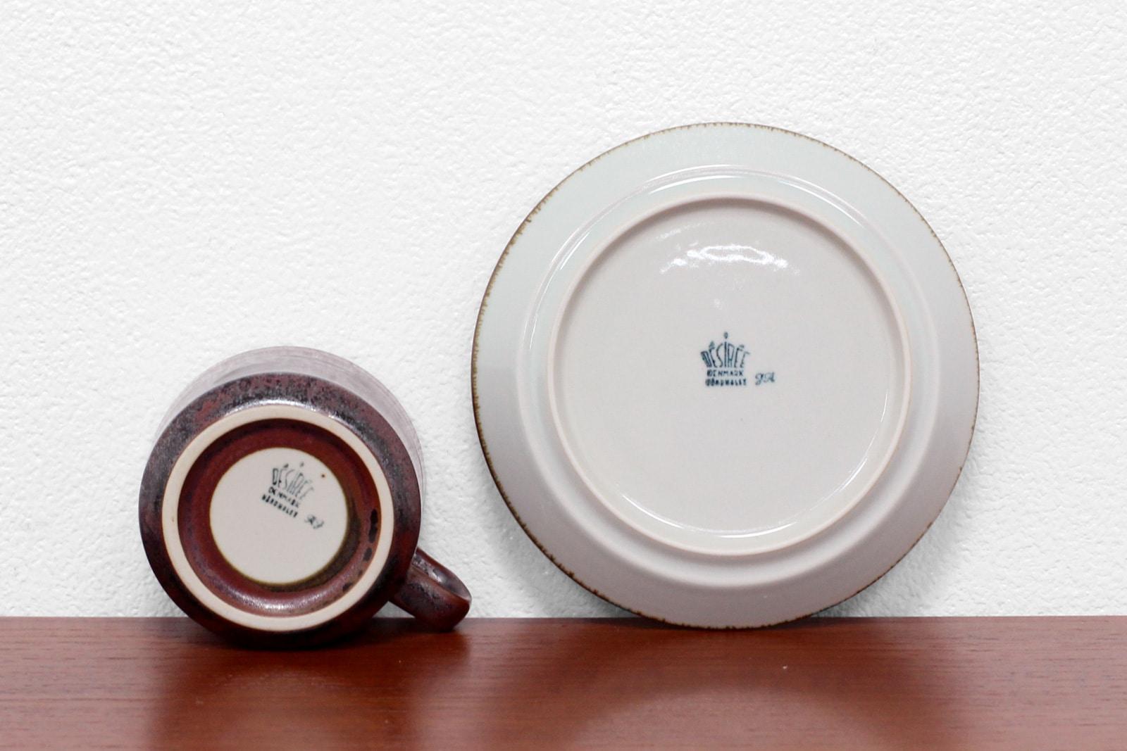北欧,ヴィンテージ食器,デシレ,ツーレ,カップ&ソーサー