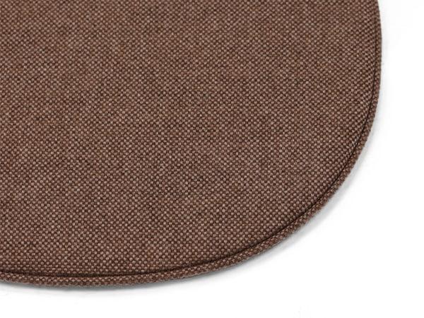 シェルチェア用,シートパッド,クッション,茶色