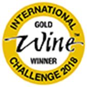 INTERNATIONAL WINE CHALLENGE 2018 純米酒の部 金メダル受賞