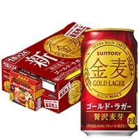 【数量限定】金麦〈ゴールドラガー〉350ml 24缶(アクマのキムチ金麦鍋付)