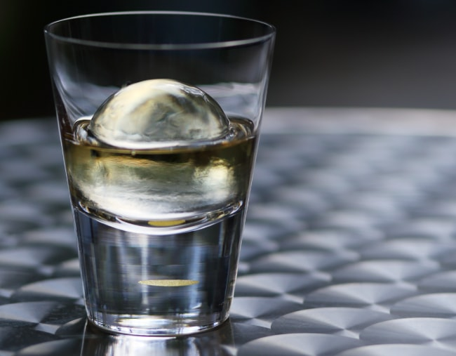 Goods Goods Bar×Sghr 匠と創るウイスキーグラス 02:ロックグラス「艶月」