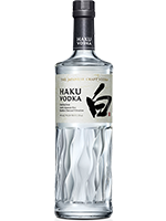 ジャパニーズクラフトウオツカ HAKU (白)700ml ¥3,300(税込)