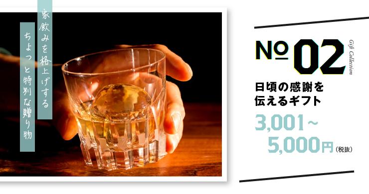 日頃の感謝を伝えるギフト 3,001〜5,000円