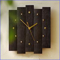 バレル時計(濃色)