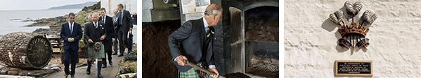 シングルモルトウイスキー初の英国王室御用達を戴く。