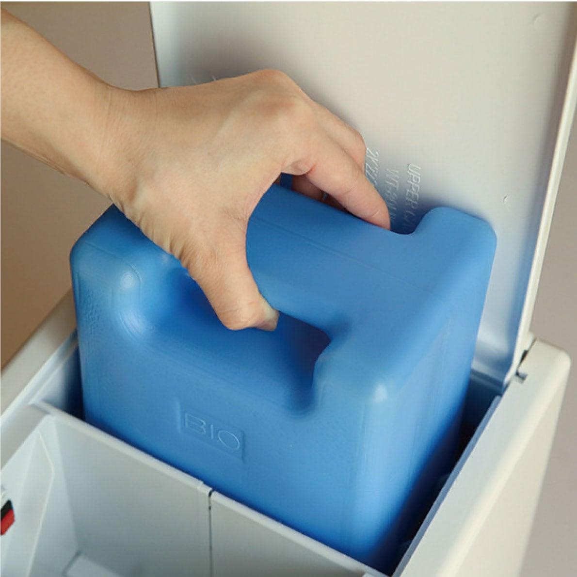 衛生面に優れたバイオプラスチックの水タンク