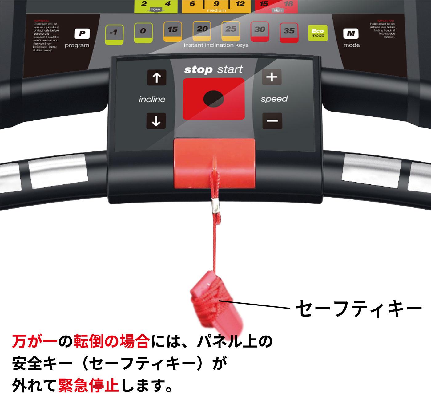 事故防止の安全キー
