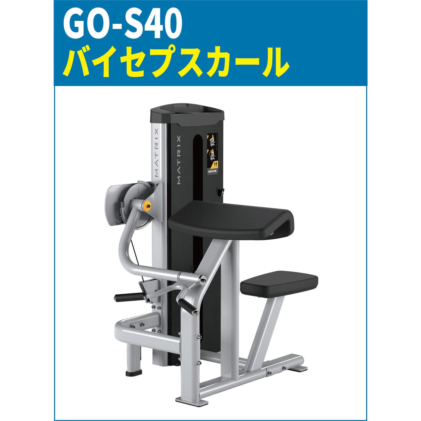 GO-S40のバイセプスカール