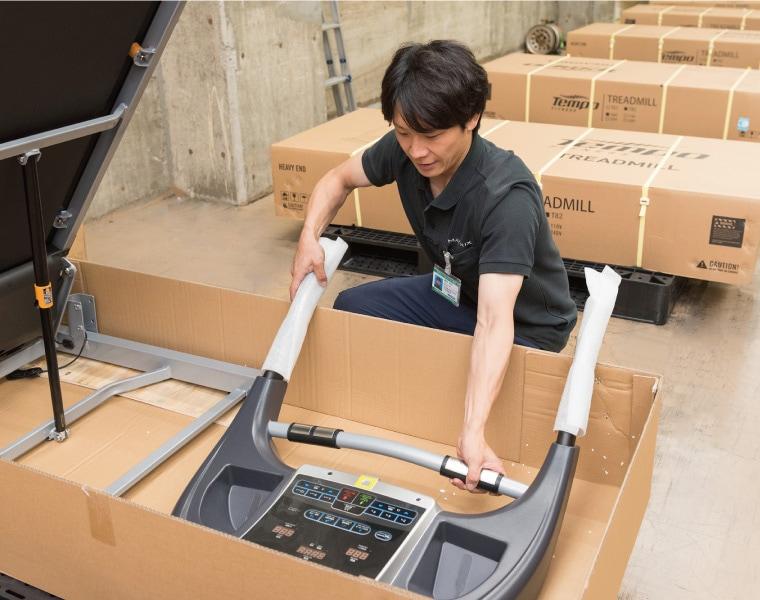 日本国内でも出荷前に検品作業